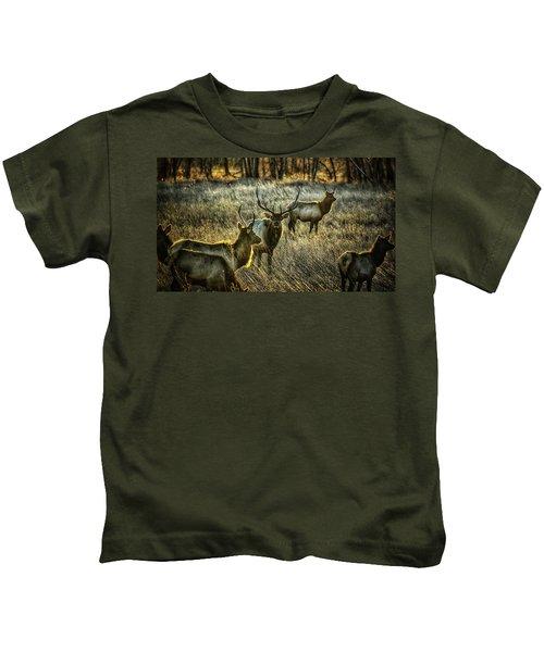 Glowing Herd Kids T-Shirt