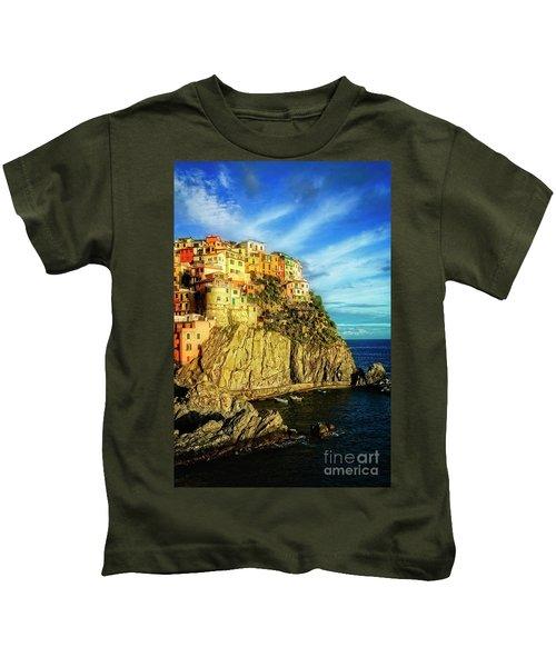 Glowing Manarola Kids T-Shirt
