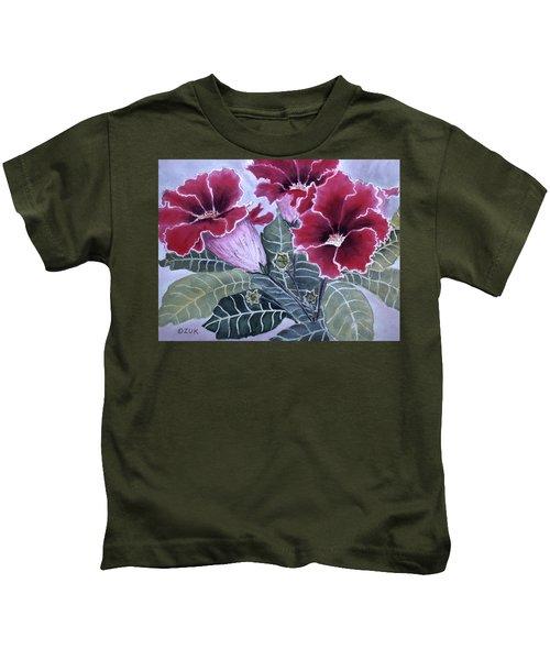 Gloxinias Kids T-Shirt
