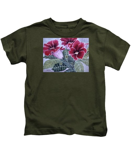 Gloxinias Kids T-Shirt