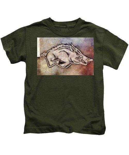 Go Hogs Go  Kids T-Shirt