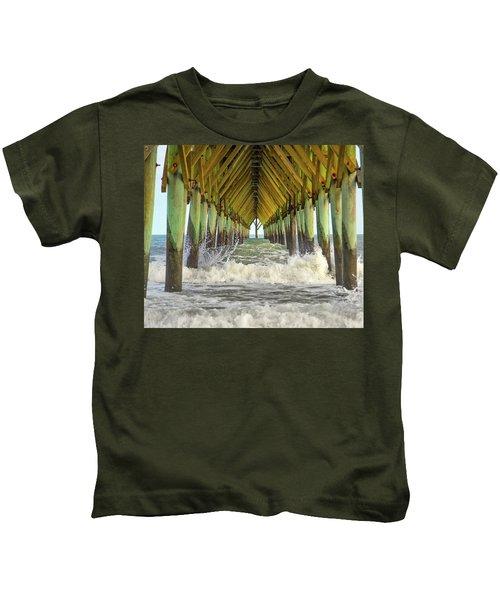 Goastal Golden Hour Kids T-Shirt