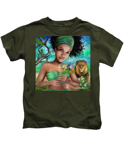 Goddess Bastet Kids T-Shirt
