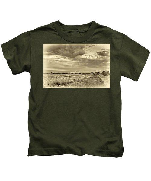 Goin' Home 2 - Sepia Kids T-Shirt