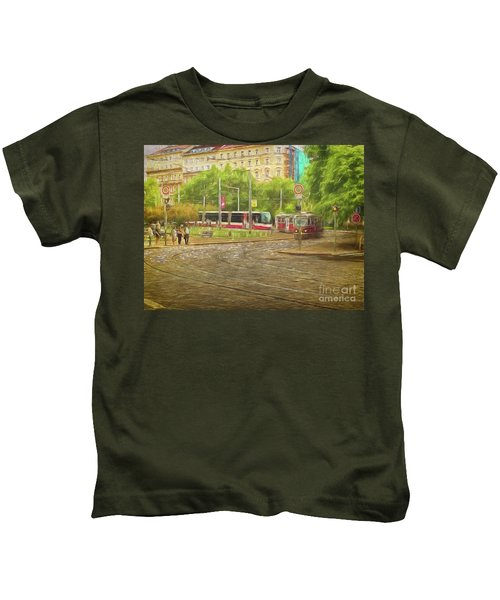 Going Slowly Round The Bend Kids T-Shirt