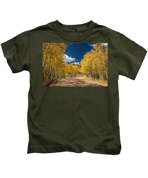 Gold Camp Road Kids T-Shirt