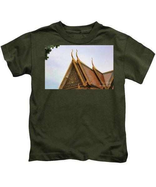 Golden Architecture  Kids T-Shirt