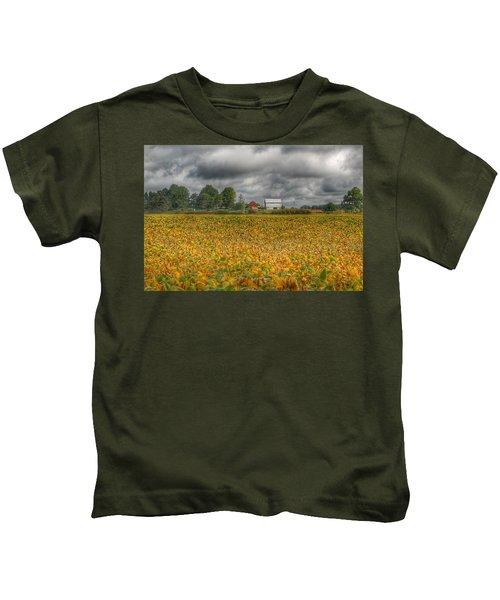 0012 - Golden Fields Farm Kids T-Shirt