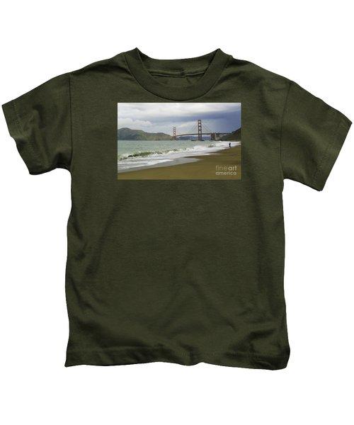 Golden Gate Bridge #4 Kids T-Shirt