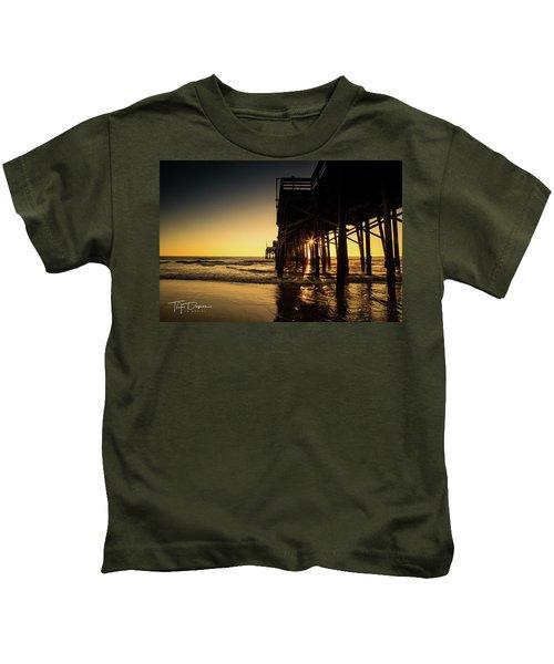 Golden Pier  Kids T-Shirt