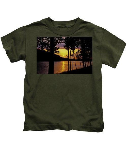 Golden Sunset Kids T-Shirt