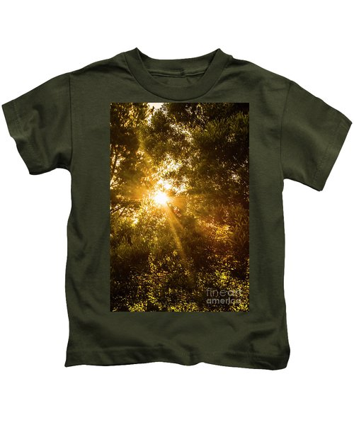 Golden Treetops Kids T-Shirt