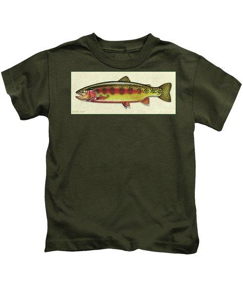 Golden Trout Id Kids T-Shirt