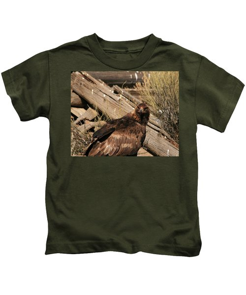 Goldeneagle1 Kids T-Shirt