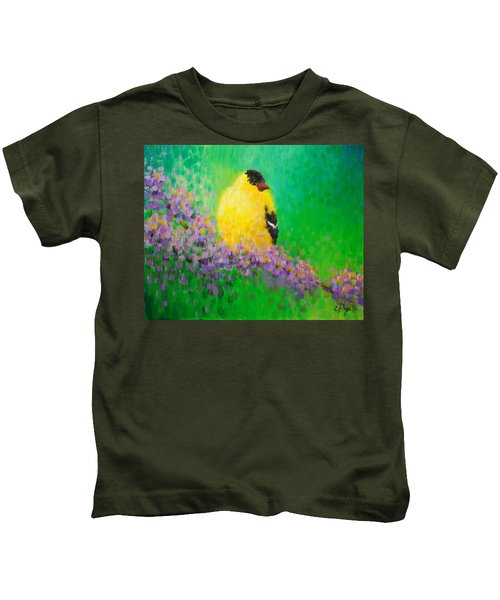 Goldfinch II Kids T-Shirt