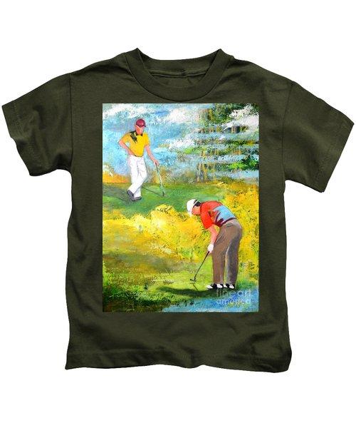 Golf Buddies #2 Kids T-Shirt