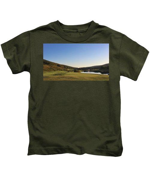 Golf - Natural Curves Kids T-Shirt