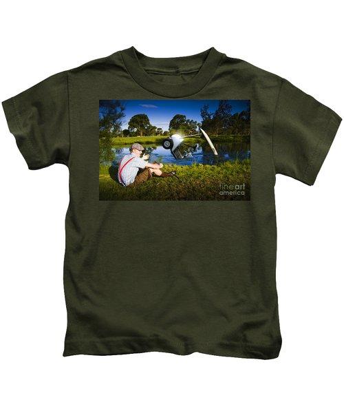 Golf Problem Kids T-Shirt