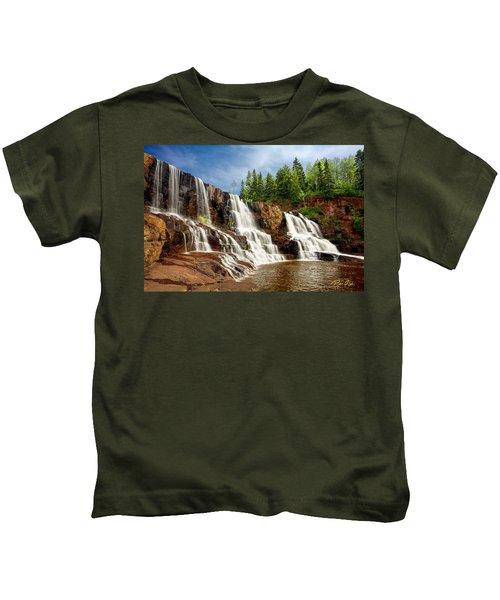 Gooseberry Falls Kids T-Shirt