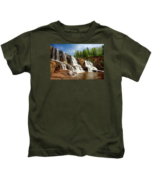Gooseberry Falls Kids T-Shirt