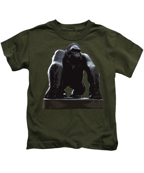 Gorilla Art Kids T-Shirt
