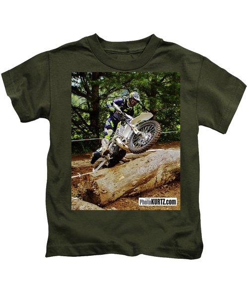 Graham Jarvis At 2017 Kenda Tennessee Knockout Enduro Kids T-Shirt