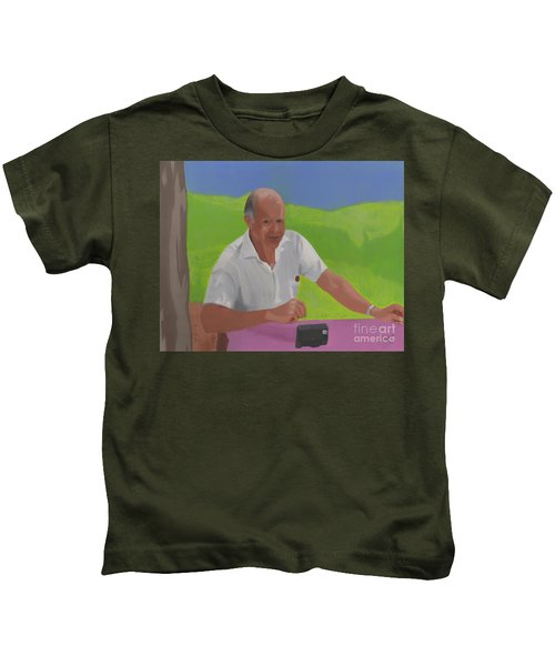 Grampa Wiegand Kids T-Shirt