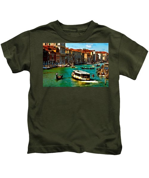Grand Canal Daytime Kids T-Shirt