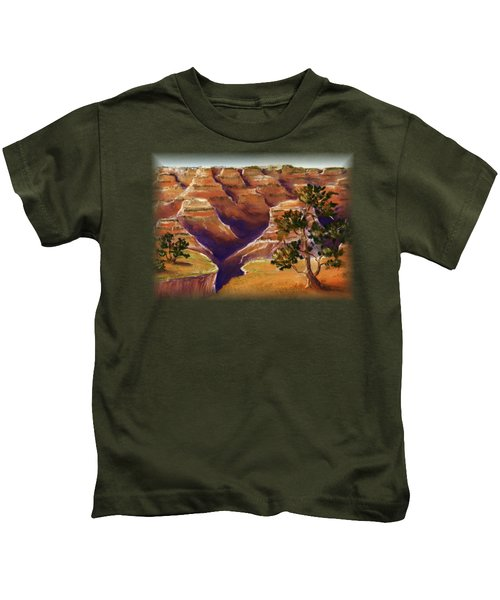 Grand Canyon Kids T-Shirt by Anastasiya Malakhova