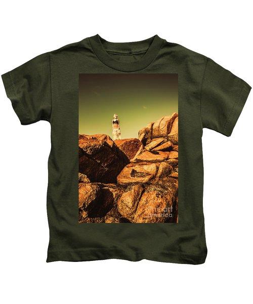 Granville Harbour Dreams Kids T-Shirt