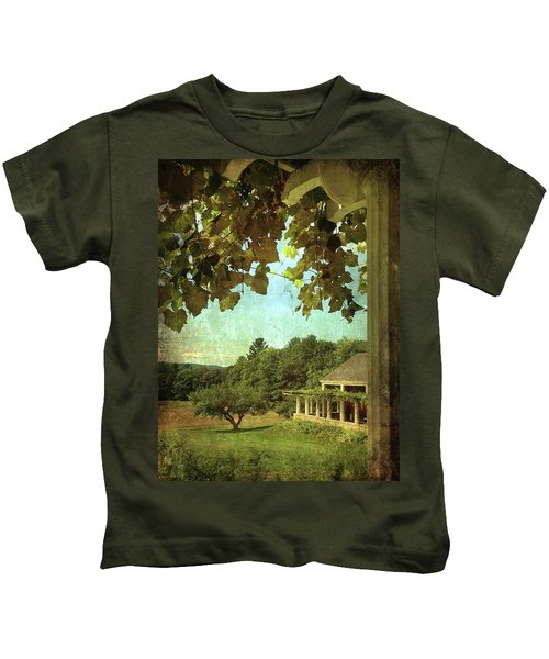 Grapes On Arbor  Kids T-Shirt