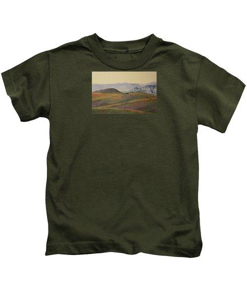 Grasslands Badlands Panel 2 Kids T-Shirt