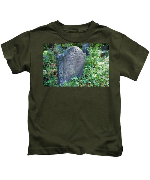 Grave Of Mary Hall Kids T-Shirt