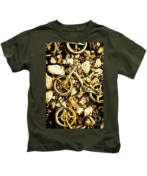 Gravel Bikes Kids T-Shirt