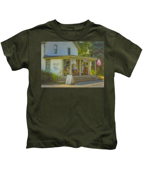 Gray's Store In Little Compton Rhode Island Kids T-Shirt