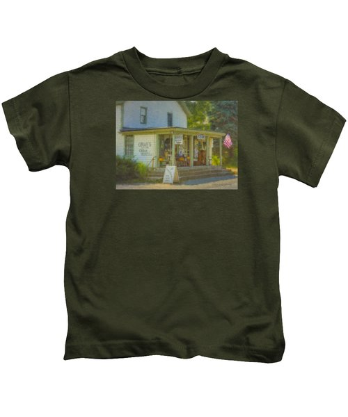 Gray's Store In Little Compton Rhode Island Kids T-Shirt