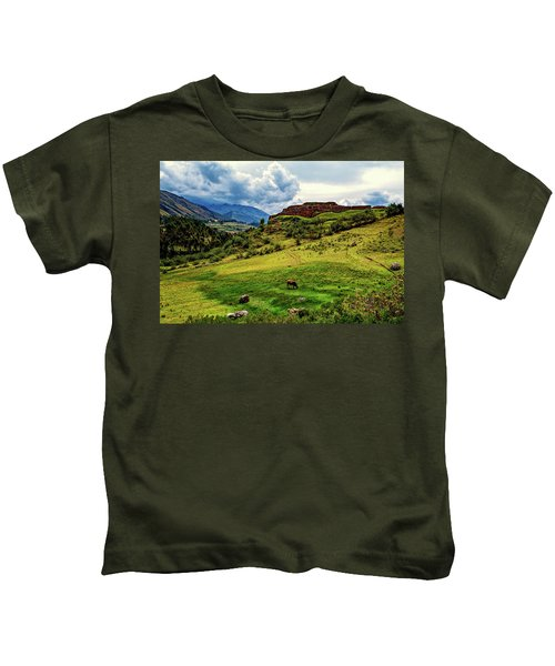 Grazing Cow Kids T-Shirt
