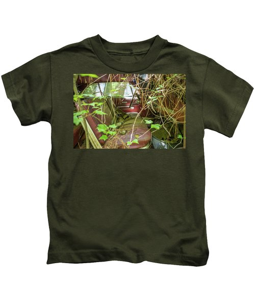 Green And Red Kids T-Shirt