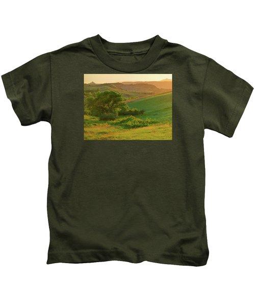 Green Dakota Dream Kids T-Shirt