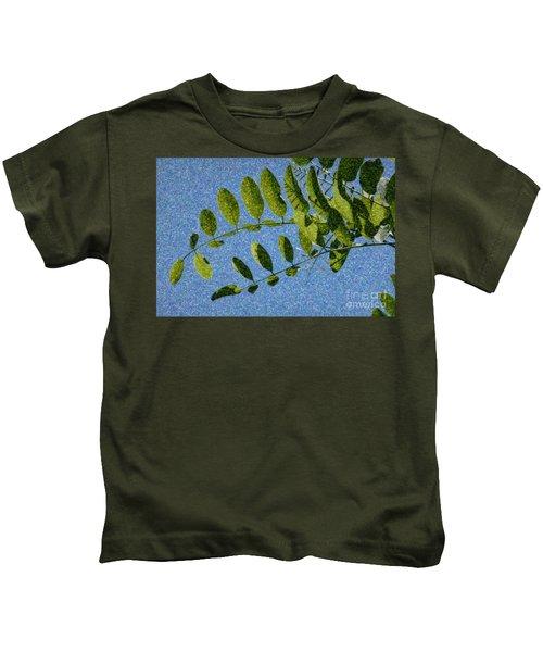 Green Leaves 2 Kids T-Shirt