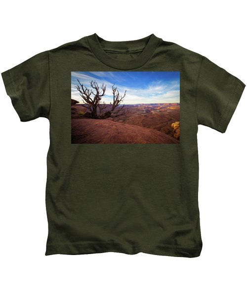 Green River Overlook Kids T-Shirt