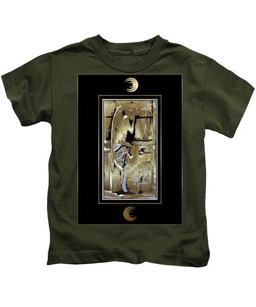 Grief Angel - Black Border Kids T-Shirt