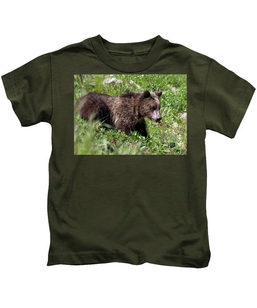 Grizzly Cub  Kids T-Shirt