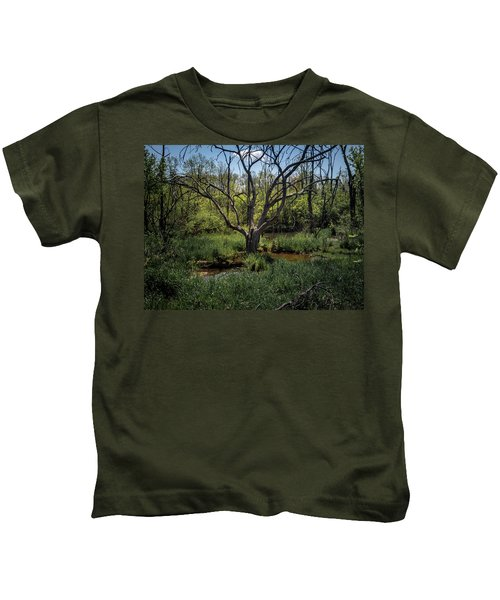 Growning From The Marsh Kids T-Shirt
