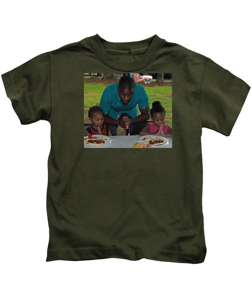 Guest Family Praying Kids T-Shirt