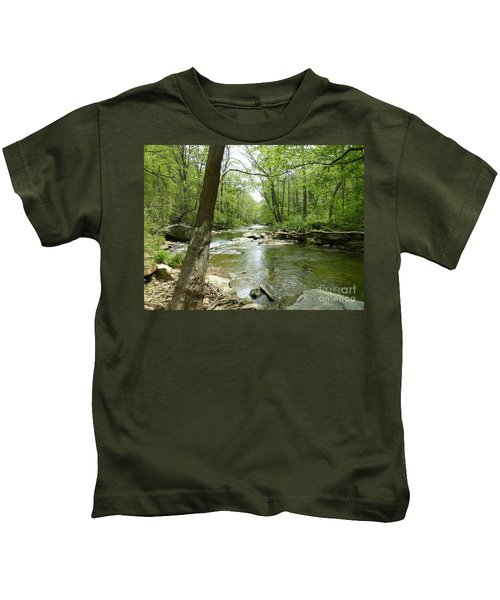 Gunpowder Falls - Ncr Trail Kids T-Shirt