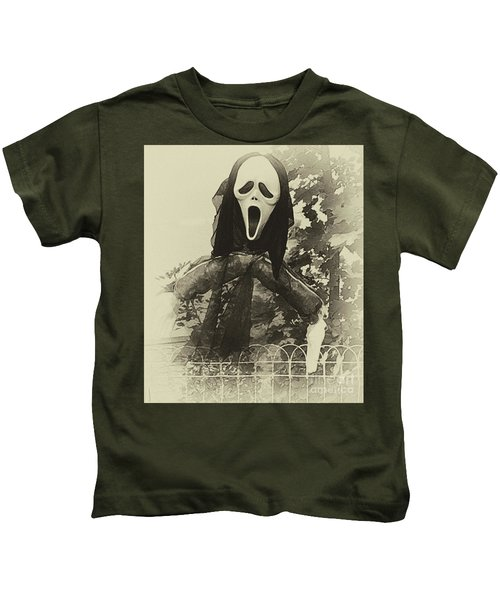 Halloween No 1 - The Scream  Kids T-Shirt