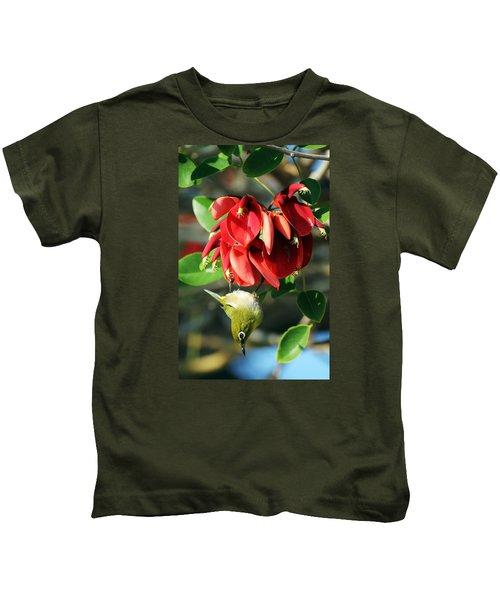 Hanging Japanese Kids T-Shirt
