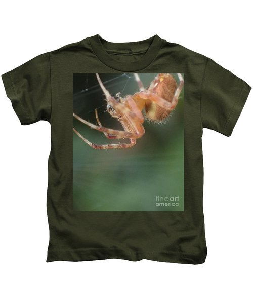 Hanging Spider Kids T-Shirt