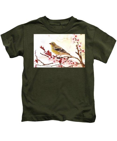 Happy Goldfinch Kids T-Shirt